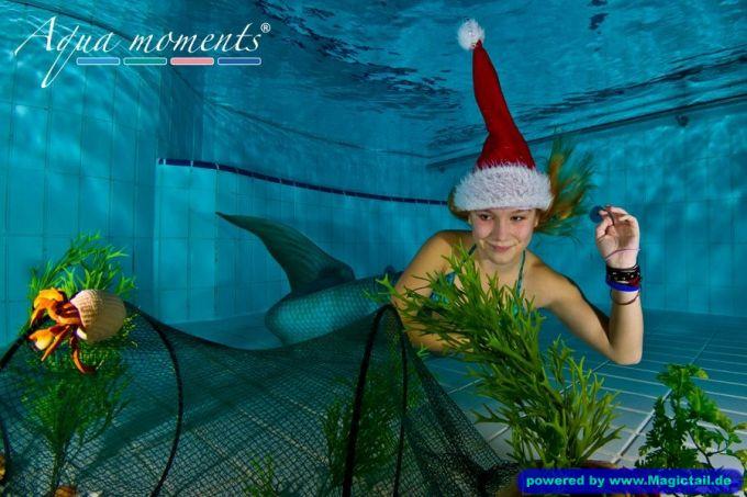 Magictail :Mermaid Moja at Christmas-Magictail