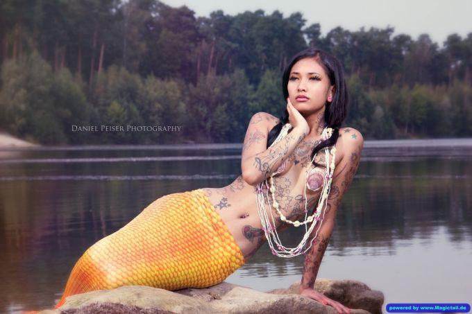 Magictail :Mermaid beauty at a lake-Magictail