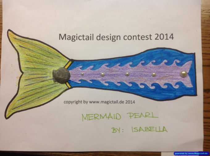 Design Contest 2014:MERMAID PEARL-Magictail GmbH