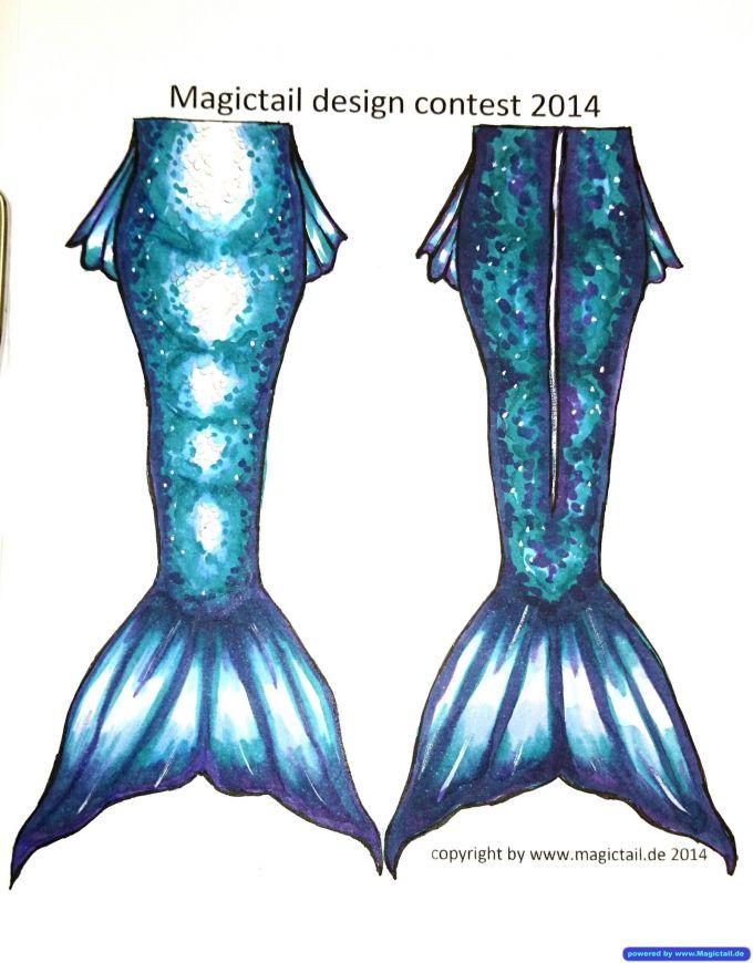 Design Contest 2014:Turquoise Dream <3-Magictail GmbH